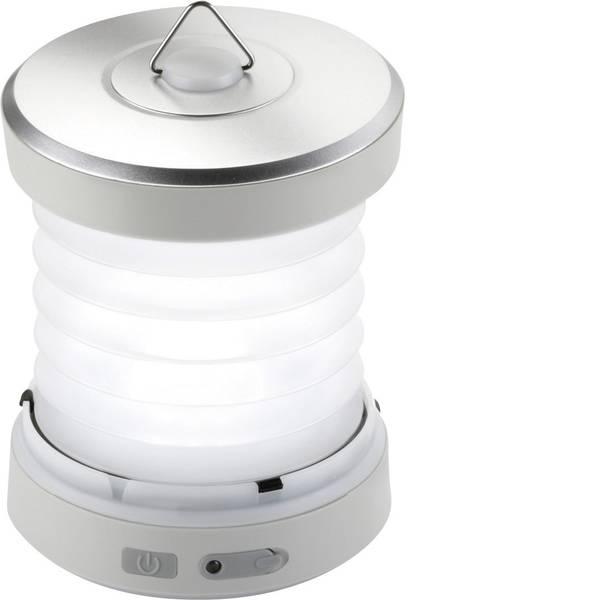 Lampade per campeggio, outdoor e per immersioni - LED Luce da campeggio Ampercell Sonia 41 lm a dinamo 220 g Argento 10427 -