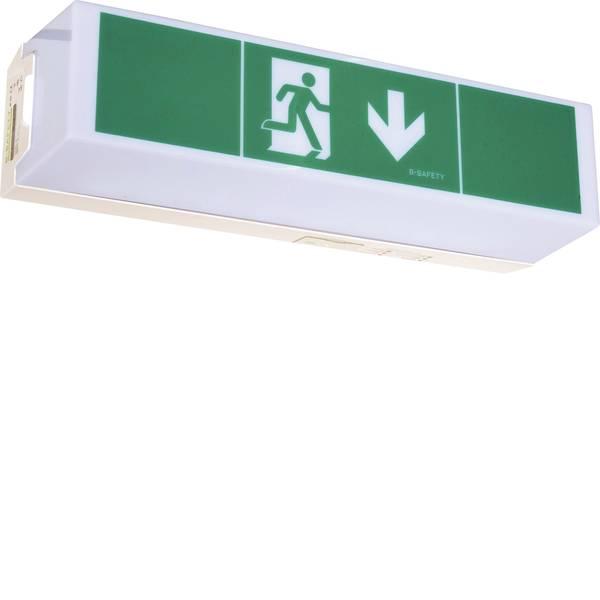 Segnaletica per uscite d`emergenza - B-SAFETY BR 565 030 Indicazione via di fuga illuminata Montaggio a soffitto, Montaggio a parete -