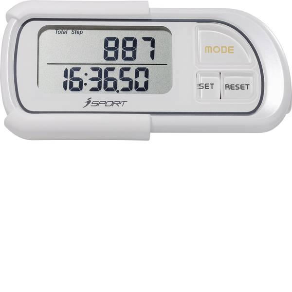 Contapassi - Pedometro iSport P084C Bianco -
