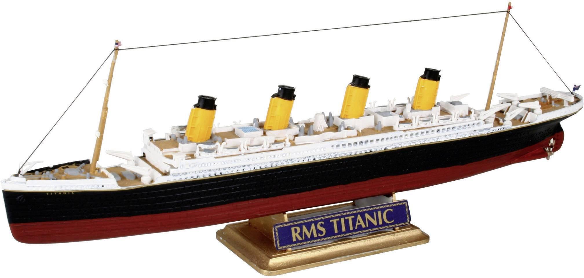 Nave in kit da costruire revell 05804 rms titanic 1:1200