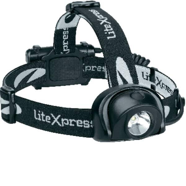 Lampade da testa - LiteXpress Liberty 113-2 LED Lampada frontale a batteria 195 lm 210 h LXL205001 -