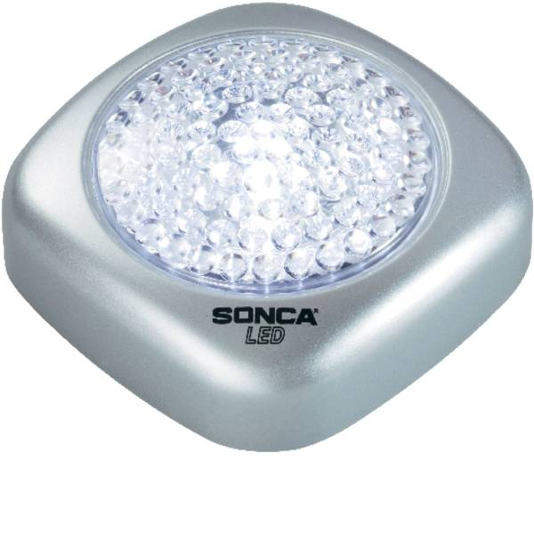 Mini lampade portatili - Basetech 572455 Lampada portatile Classe energetica: LED LED Argento -