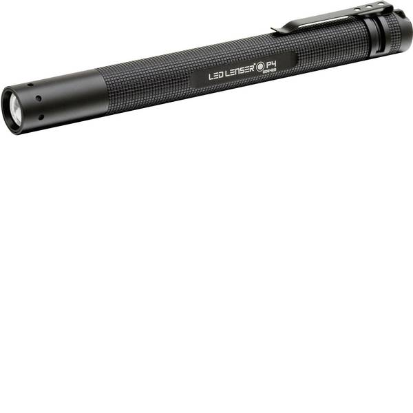 Mini torce - Lampada a forma di penna Penlight a batteria LED 14.7 cm Ledlenser 8604 P4 BM Nero -