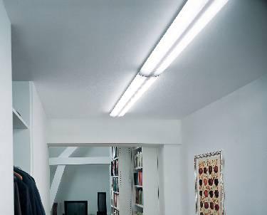 Plafoniere Con Griglia : Plafoniera con griglia tubo fluorescente g13 72 w osram lumilux duo