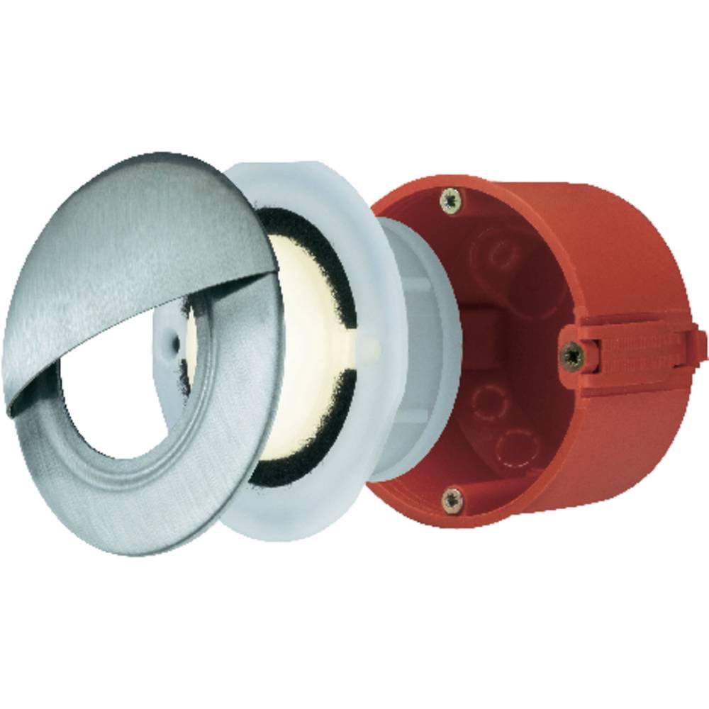 Lampade da incasso per esterno a led 1 4 w bianco caldo for Lampade led incasso