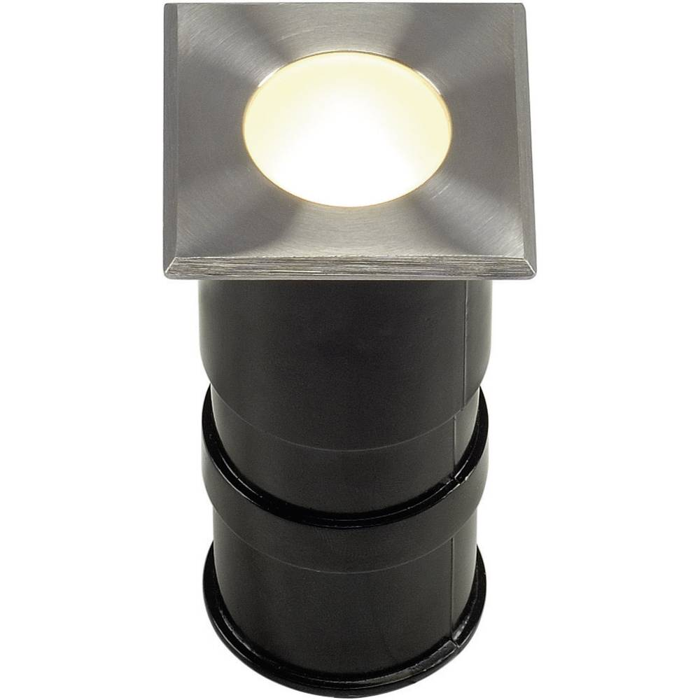 Lampade da incasso per esterno a led 1 w bianco caldo slv for Lampade da incasso