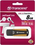 Chiavetta USB Transcend USB-Stick 8GB Jetflash 810