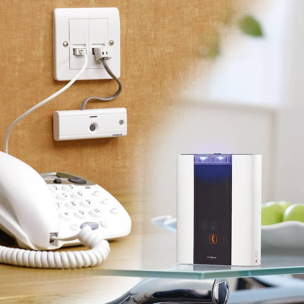 Campanello senza fili suoneria del telefono friedland d936 s in vendita online d936 s conrad - Suoneria campanello casa ...