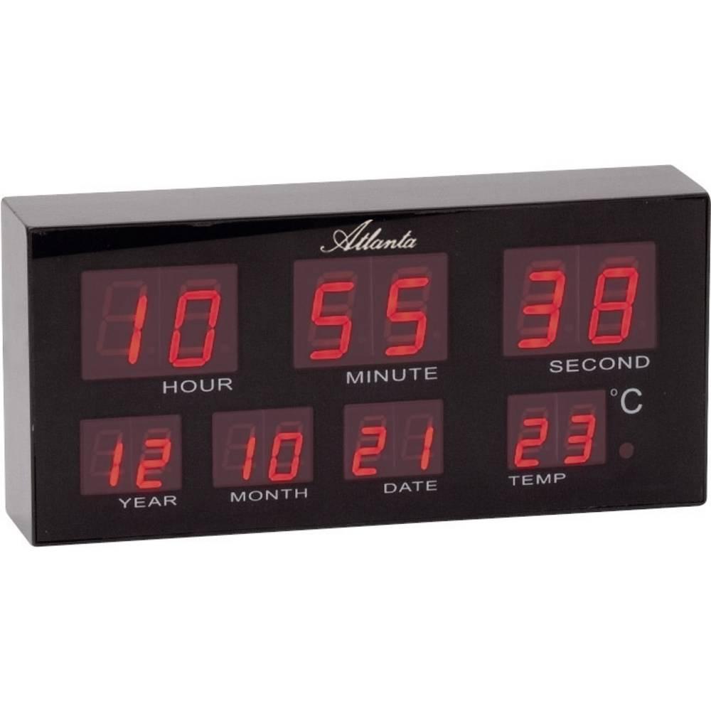 Orologio da tavolo da parete led digitale p x a 19 cm x 9 cm nero in vendita online 1139 - Orologio da tavolo digitale ...