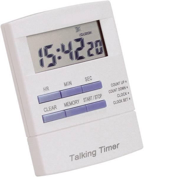 Timer - 621250 Timer Bianco, Blu digitale -