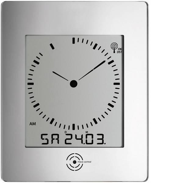 Orologi da parete - TFA 60-4507 Radiocontrollato Orologio da parete 240 mm x 285 mm x 39 mm Argento -