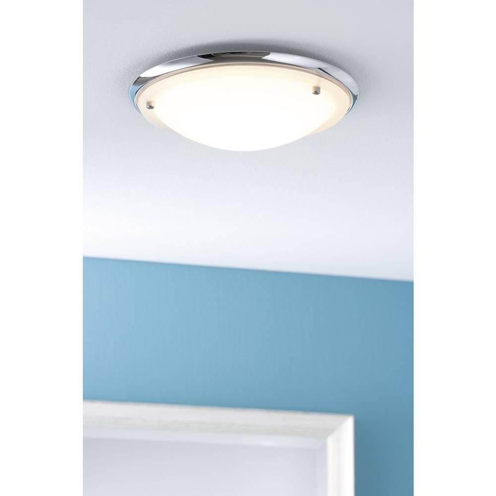 Lampada a soffitto per bagno lampadina alogena lampada a risparmio energetico e27 60 w paulmann - Lampada bagno soffitto ...