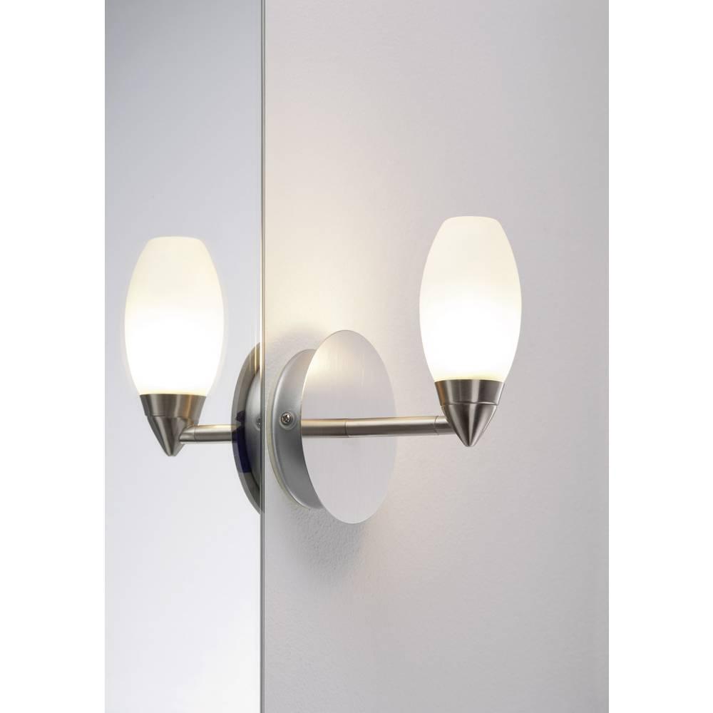 Lampada da parete per bagno lampadina alogena g9 28 w - Lampada da bagno ...