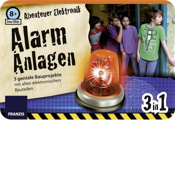 Pacchetti di apprendimento elettrici ed elettronici - Franzis Verlag SmartKids Abenteuer Elektronik Alarm Anlagen 65217 Kit da costruire da 8 anni -