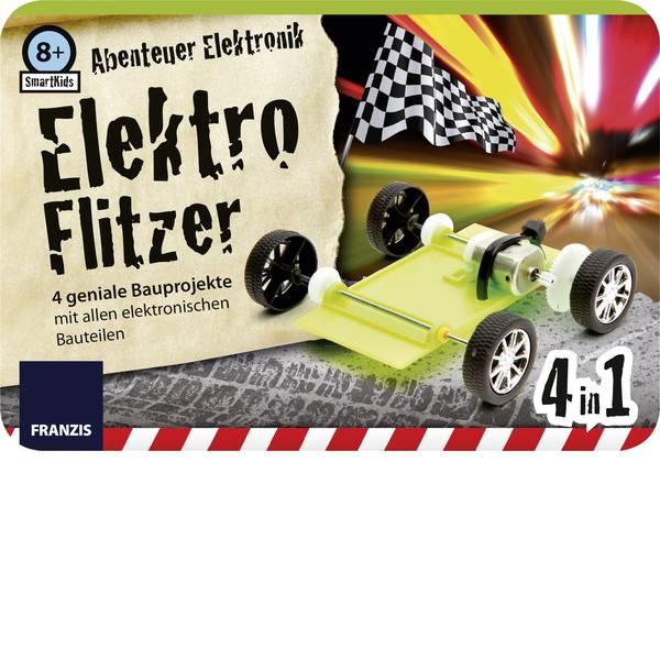 Pacchetti di apprendimento elettrici ed elettronici - Franzis Verlag SmartKids Abenteuer Elektronik Elektro Flitzer 65216 Kit da costruire da 8 anni -