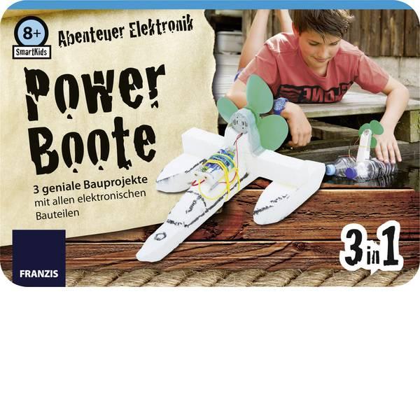 Kit esperimenti e pacchetti di apprendimento - Kit da costruire Franzis Verlag SmartKids Abenteuer Elektronik Power Boote 65212 da 8 anni -