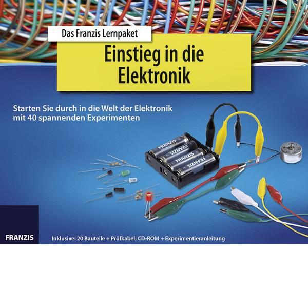 Pacchetti di apprendimento elettrici ed elettronici - Franzis Verlag Einstieg in die Elektronik 65196 Pacchetto di apprendimento da 14 anni -