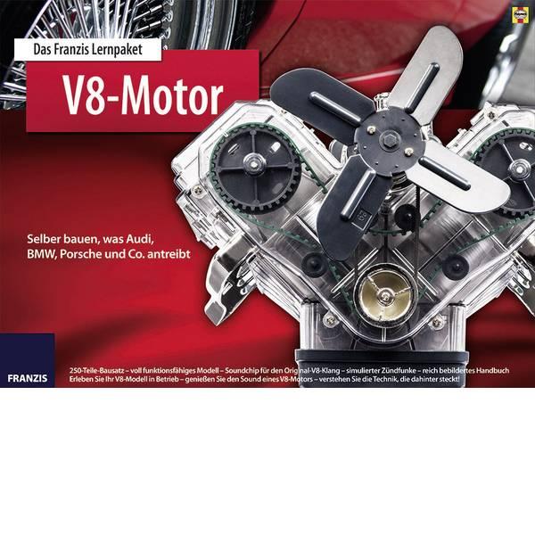 Kit esperimenti e pacchetti di apprendimento - Pacchetto di apprendimento Franzis Verlag V8-Motor 65207 da 14 anni -