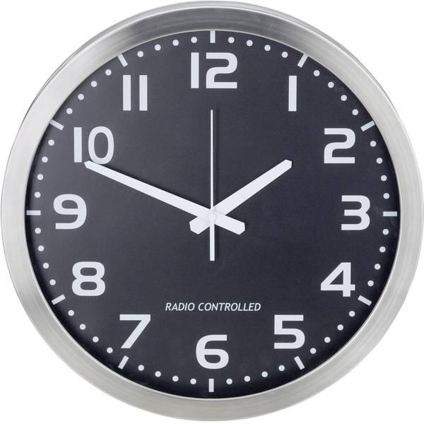 Orologi da parete - M601508 Radiocontrollato Orologio da parete 40 cm Alluminio -