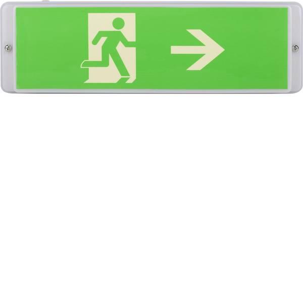 Segnaletica per uscite d`emergenza - Indicazione via di fuga illuminata Montaggio a parete Smartwares 10.040.73 -