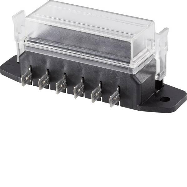 Portafusibili auto - SD-6S Portafusibili piatti auto Fusibile a lama standard Poli 6 poli 30 A 1 pz. -