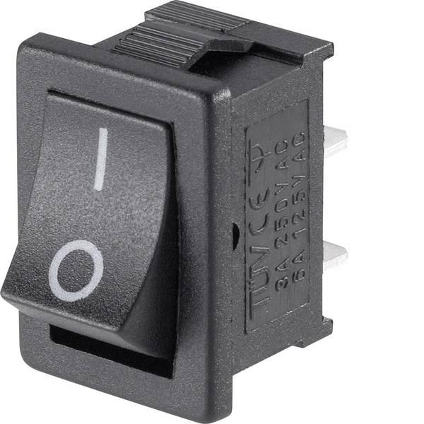 Interruttori per auto - Interruttore a bilanciere Mini-Wippenschalter MRS-101-C3 1xEin 1 pz. -