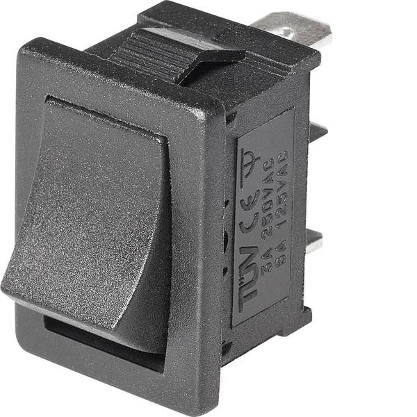 Interruttori per auto - Interruttore a bilanciere Mini-Wippenschalter MRS-102-C 1xUm 1 pz. -