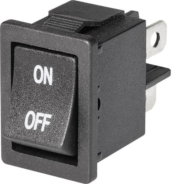 Interruttori per auto - Interruttore a bilanciere Mini-Wippenschalter MRS-2012C5 2xEin 1 pz. -