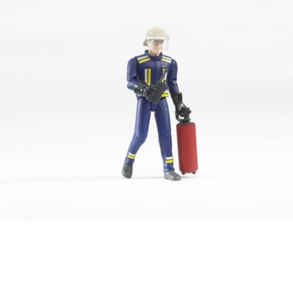 Personaggi da gioco - Vigile del fuoco con accessori bworld Bruder -
