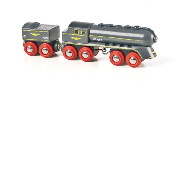 Trenini e binari per bambini - Sfera nera BRIO flash con Cavolo -