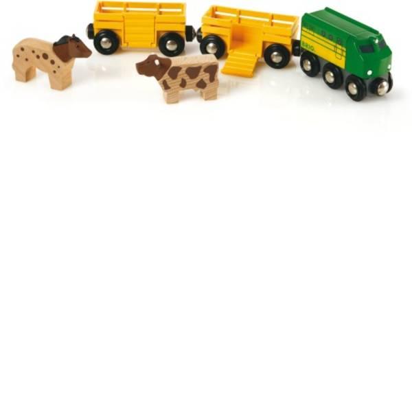 Trenini e binari per bambini - Brio Bauernhof-Zug 33404000 -