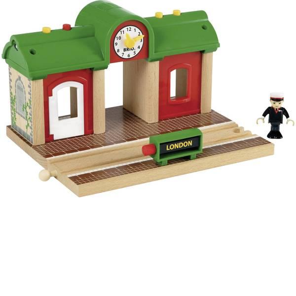 Trenini e binari per bambini - Brio Sprechender Bahnhof 33578000 -