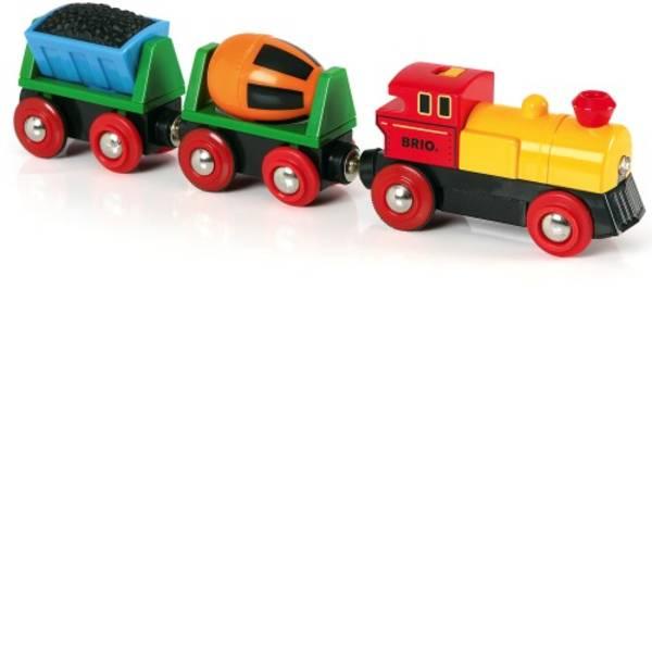 Trenini e binari per bambini - Brio Zug mit Batterielok 33319000 -