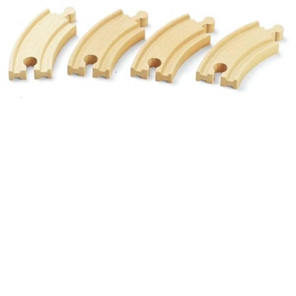 Trenini e binari per bambini - BRIO breve binari curvi (E1) -