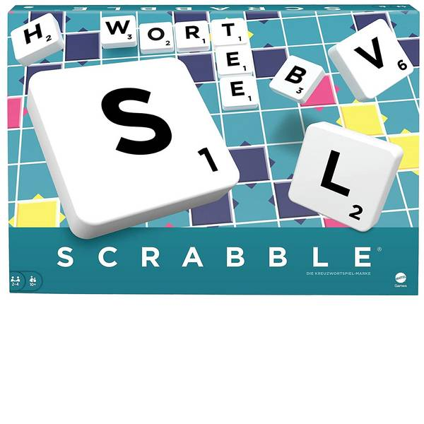 Giochi di società e per famiglie - Mattel Scrabble™ Original Y9598 -