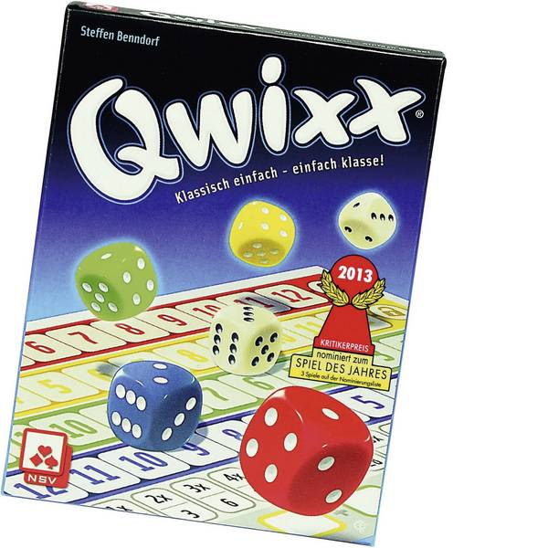 Giochi di società e per famiglie - NSV Qwixx - Klassisch einfach - einfach klasse! 8819908015 -
