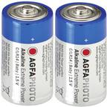 Batterie mezza torcia alcaline Agfa, kit 2 pz.