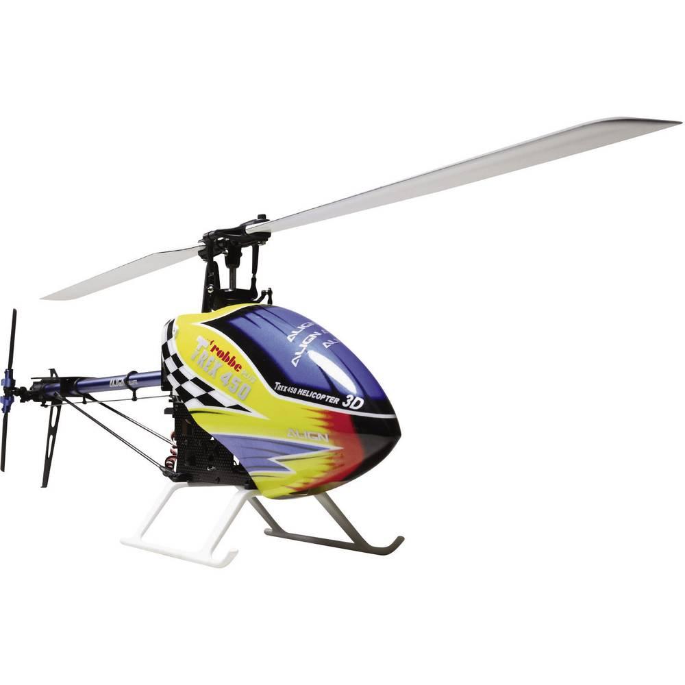 Elicottero 450 : Align elicottero elettrico t rex 450 plus dfc super combo btf