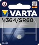 Pila a bottone all'ossido di argento VARTA Electronics 364
