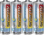 Batterie alcaline AA Conrad energy, set da 4