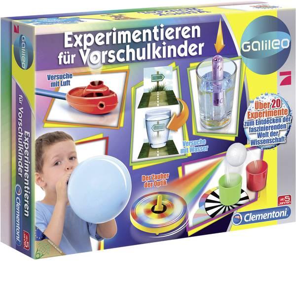 Kit esperimenti e pacchetti di apprendimento - Kit per esperimenti Clementoni Galileo-Experimentieren f. Vorschulk. 69252.1 -
