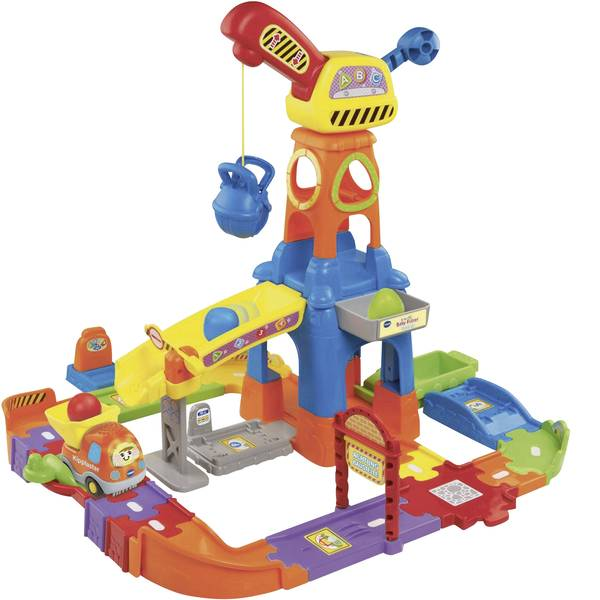 Giochi per bambini - VTech Tut Tut Baby Flitzer - Baustelle 80-146604 -
