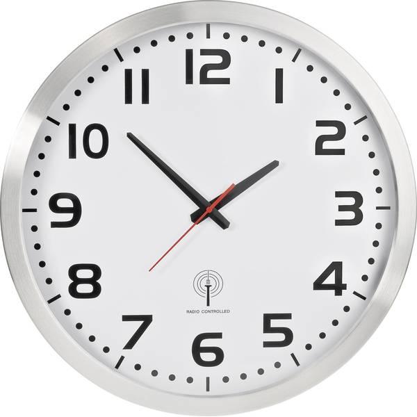 Orologi da parete - Funk-Wanduhr Jumbo (Ø) 50 cm Aluminium -