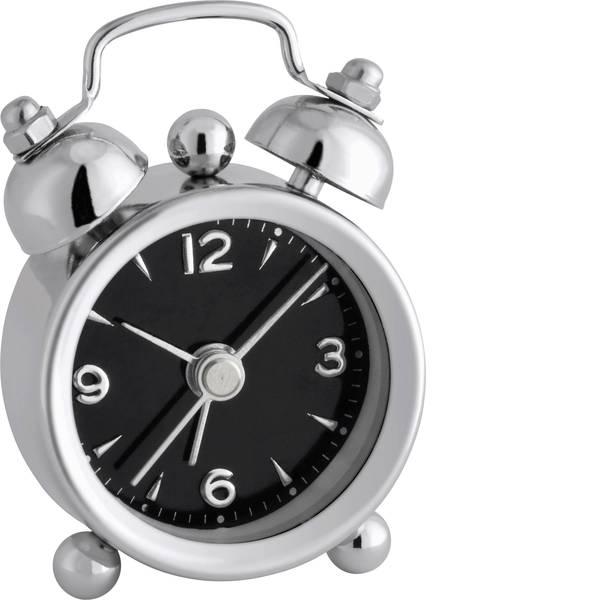 Sveglie - TFA 60.1000.01 Quarzo Sveglia Cromato Tempi di allarme 1 -