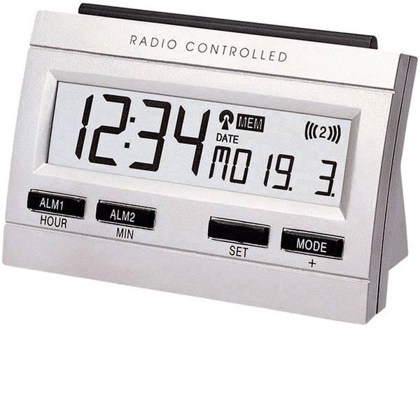 Sveglie - Techno Line 02991 Radiocontrollato Sveglia Argento Tempi di allarme 2 -