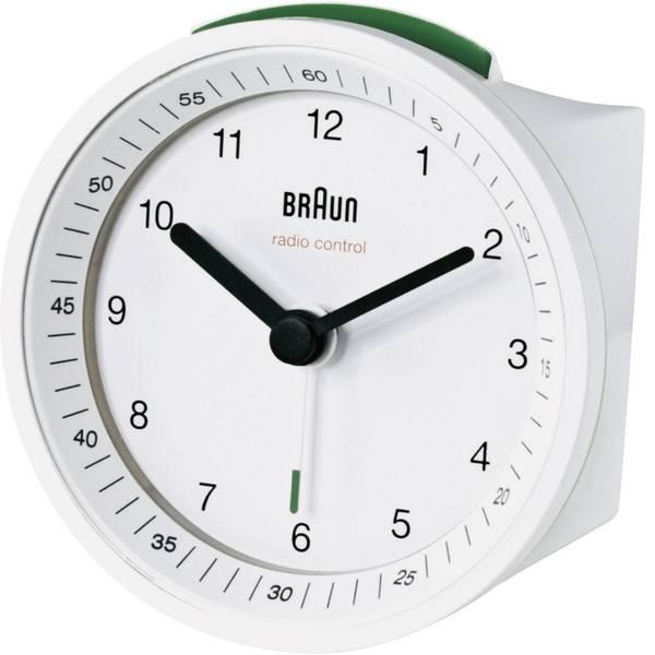 Sveglie - Braun 66010 Radiocontrollato Sveglia Bianco Tempi di allarme 1 -