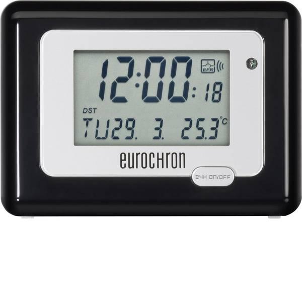 Sveglie - Eurochron HK 212 Radiocontrollato Sveglia Nero / Argento Tempi di allarme 1 -