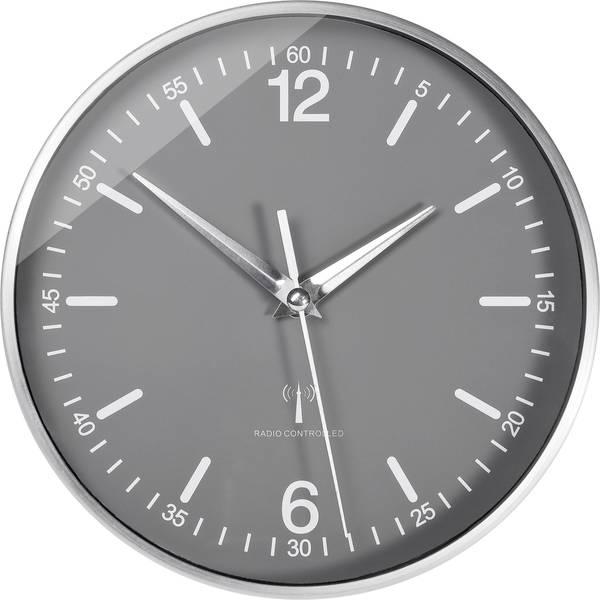 Orologi da parete - TFA 60.3503 Radiocontrollato Orologio da parete 19.5 cm x 5 cm Alluminio -