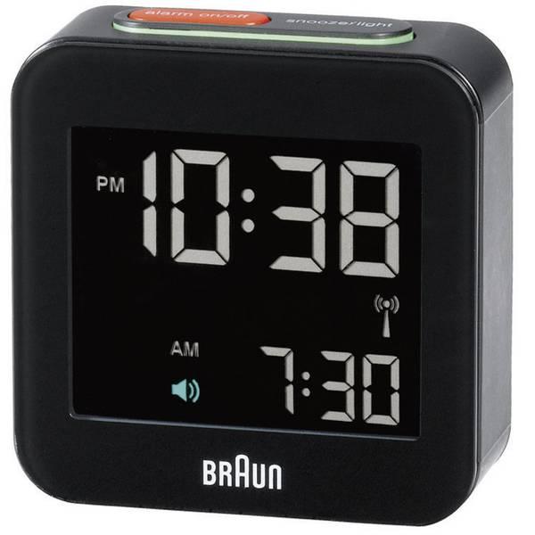 Sveglie - Braun 66015 Radiocontrollato Sveglia Nero -