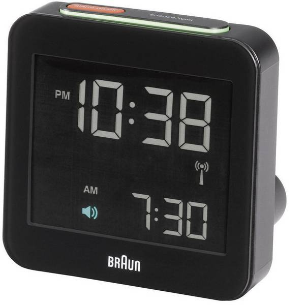 Sveglie - Braun 66018 Radiocontrollato Sveglia Nero Tempi di allarme 1 -